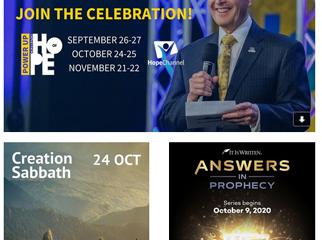 September 2020 Advent Hub Newsletter